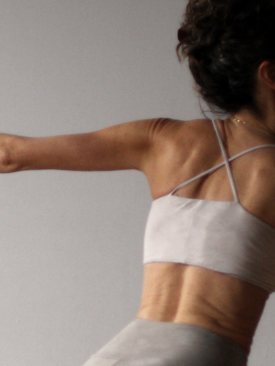 Symmetrical Yoga Bra - Limited Edition Natural Dyed