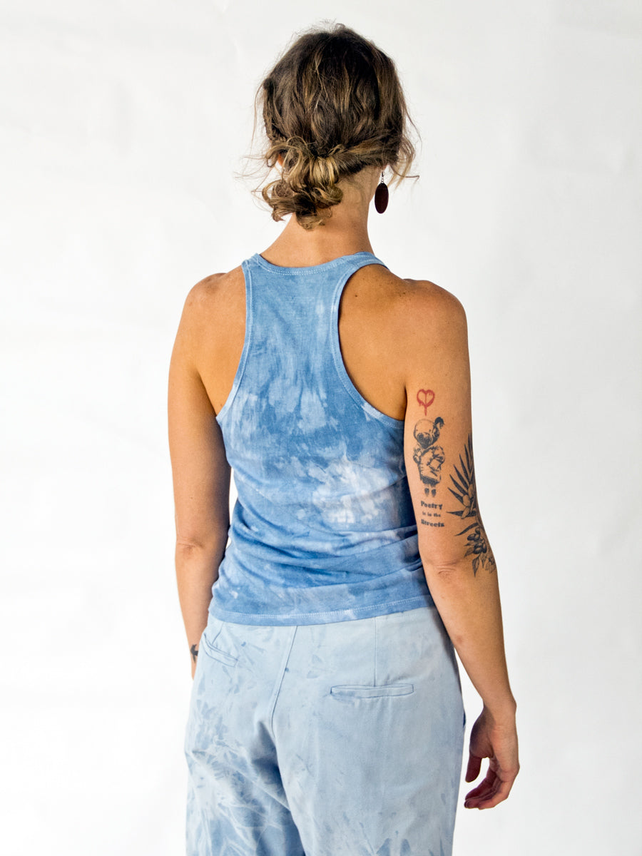 Loose Tank - Limited Edition Natural Dye Indigo
