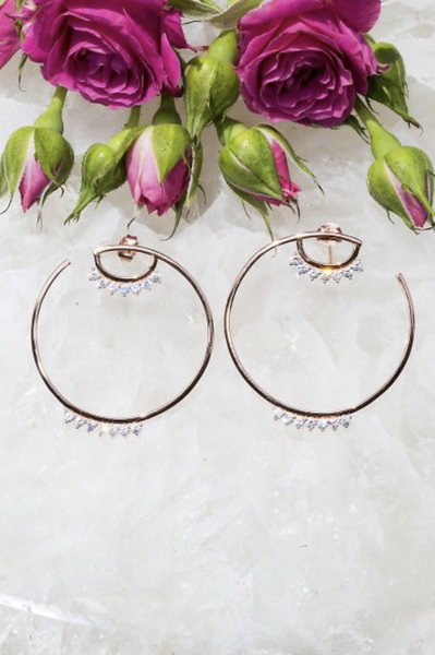 Gemma Hoop Earrings - T. Georgiano's