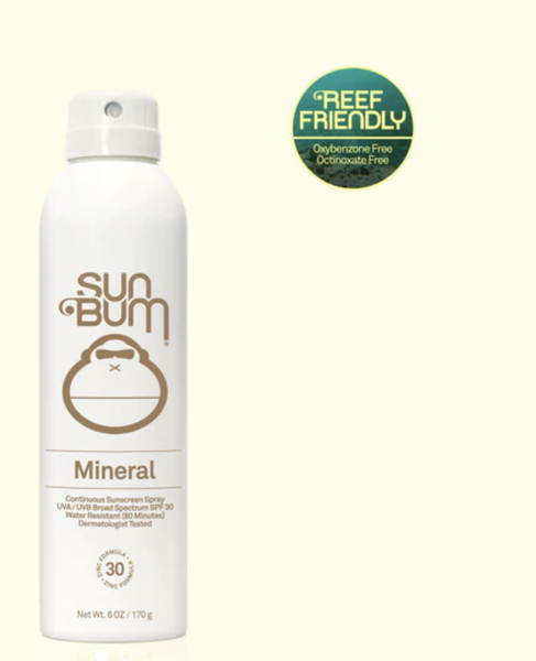 Sun Bum SPF 30 Mineral Spray - 6oz
