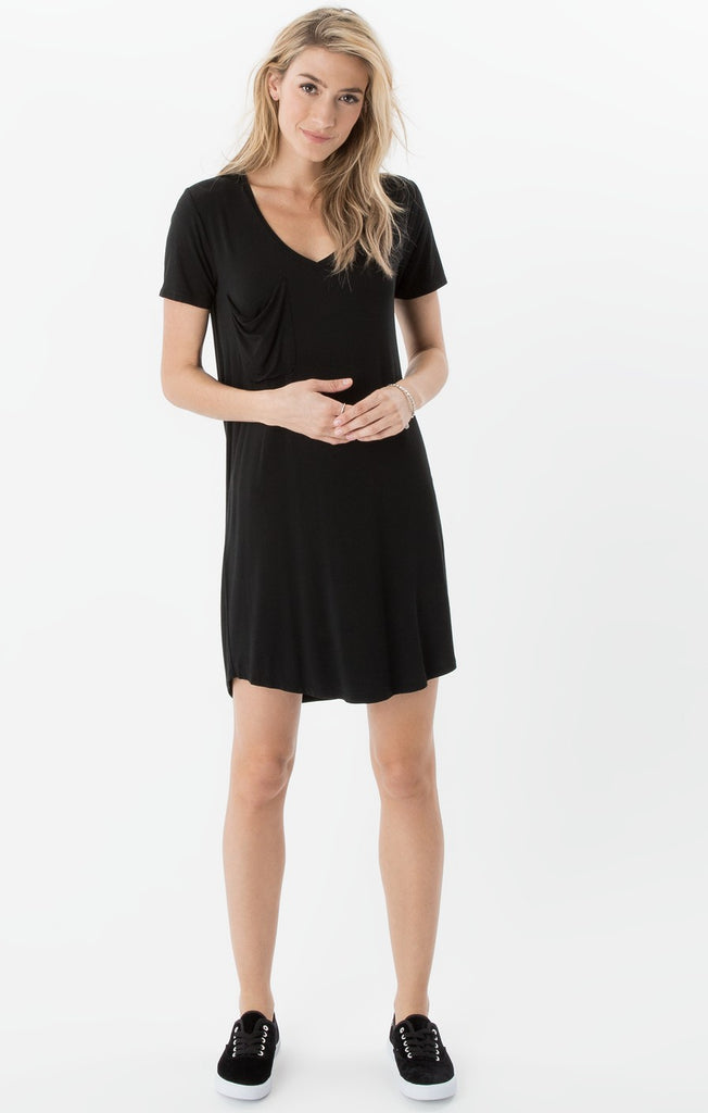 ZD172056 The Pocket Tee Dress