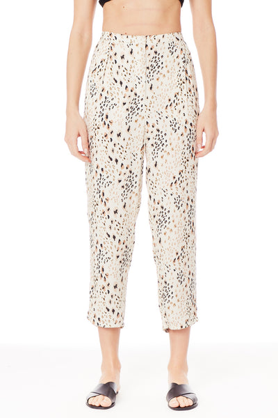 Safari Mix Pull On Crop Pant - T. Georgiano's