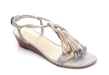 Bernardo Court Tassel Demi Wedge