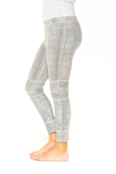 GIRLS LOVE KNIT MOTO LEGGING WITH RIB - T. Georgiano's