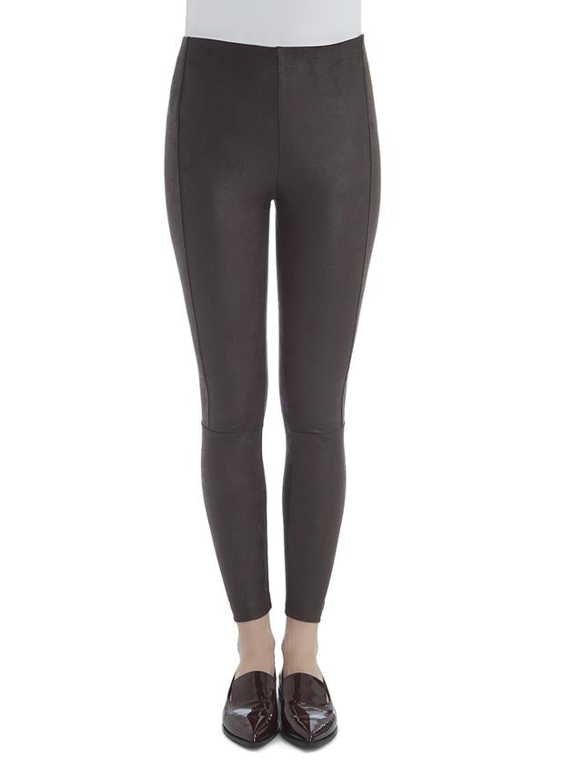Lysse Buffed Suede Legging - T. Georgiano's