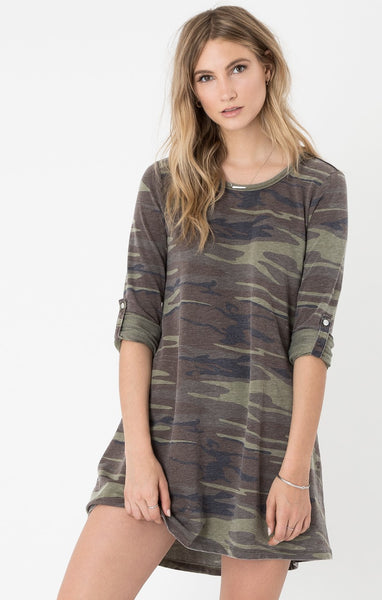 The Camo Symphony Dress