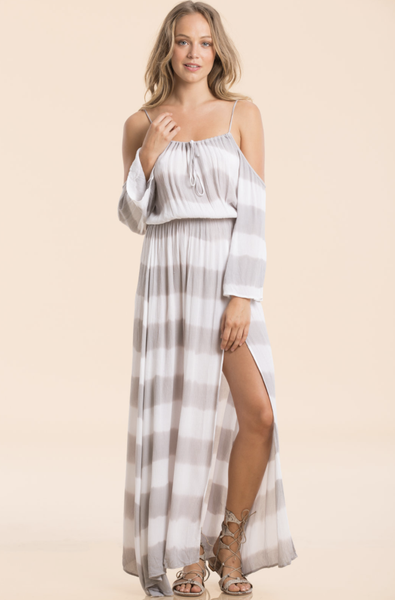 Maxi w/ Cold Shoulder