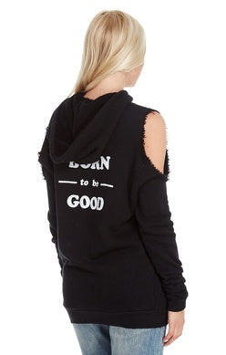 good hYOUman Hailey Cold Shoulder Hoodie (Oct. 2017)
