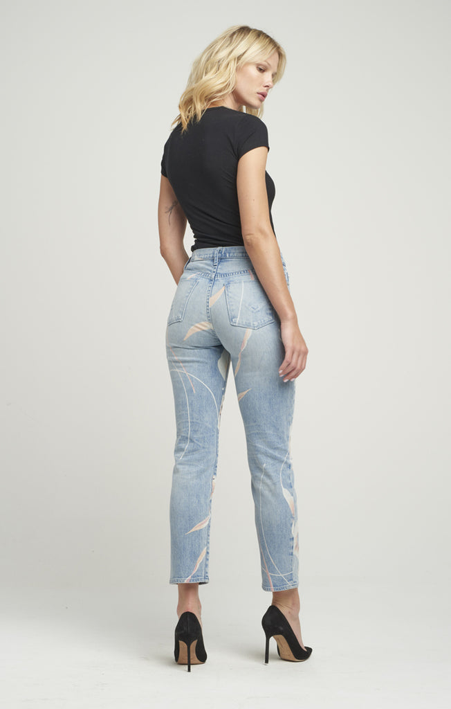 Hudson Zoeey High Rise Straight Jeans - T. Georgiano's