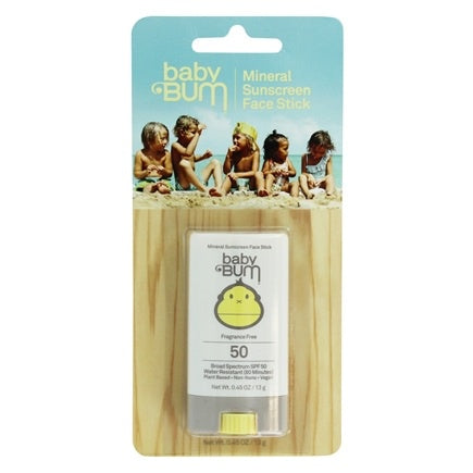 Baby Bum SPF 50 Face Stick .45oz - T. Georgiano's