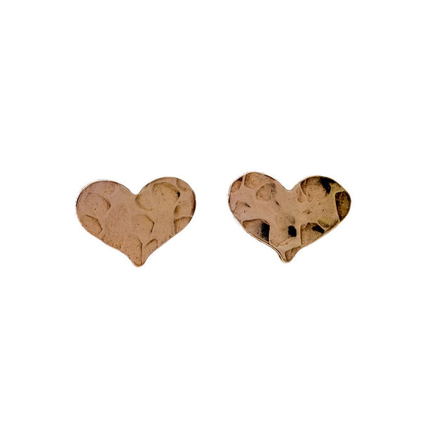 Heart Studs - T. Georgiano's