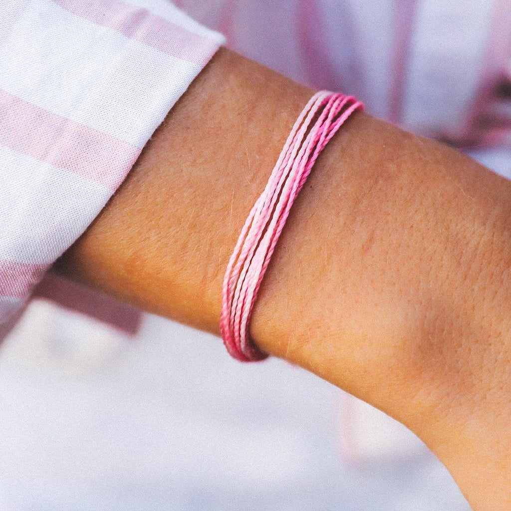BOARDING 4 BREAST CANCER Charity Bracelet - T. Georgiano's