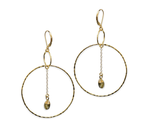 Grace Lab Earring - T. Georgiano's