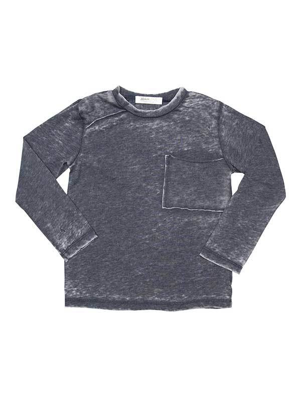 ROB-Dist Distressed 1-Pocket Longsleeve