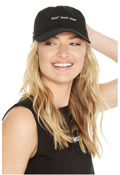good hYOUman Best Mom Ever- Dad Baseball Cap