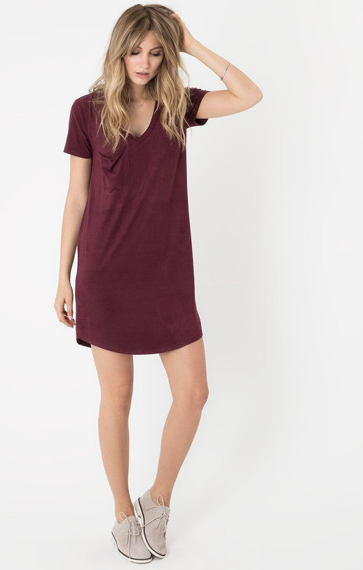 The Suede Dress