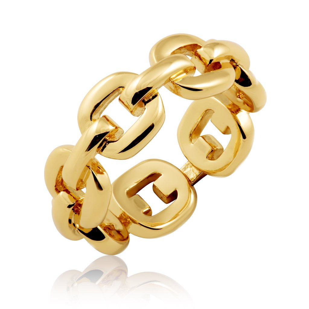 Kaye Link Ring - T. Georgiano's