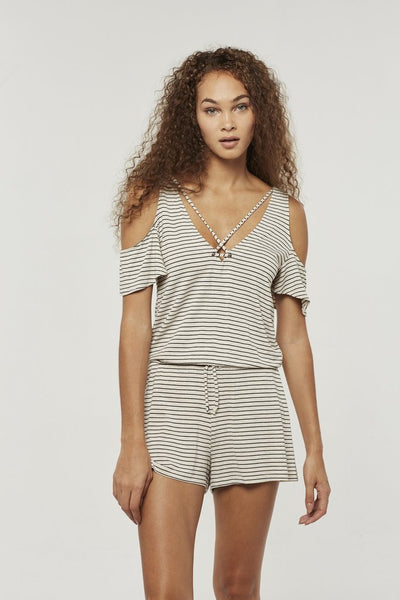 PROJECT SOCIAL T Bettie Cold Shoulder Romper
