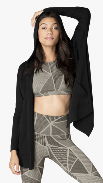 Beyond Yoga Love and Fleece Hooded Cardigan - T. Georgiano's