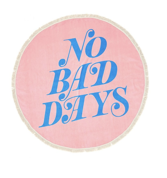 ban.do All Around Giant Towel / No Bad Days