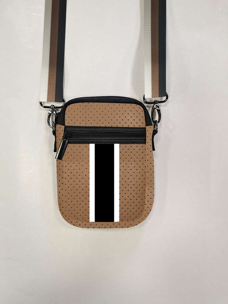 Casey Crossbody - Paris (Brown Coated) - T. Georgiano's