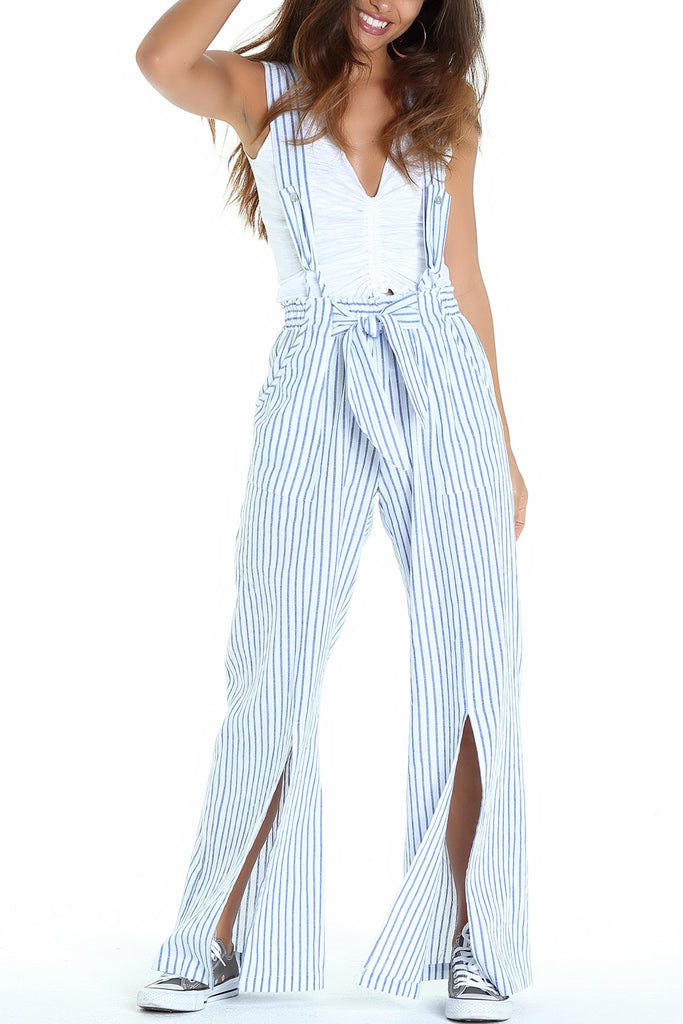 Suspender Stripe Pant