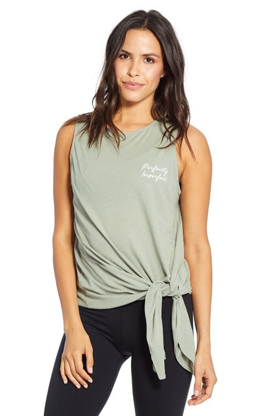 Mila Tie Front Tank - Perfectly - T. Georgiano's