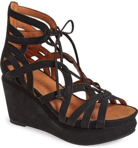 81b6e51c1f9a JOY LACE UP NUBUCK WEDGE Details GENTLE SOULS BY KENNETH COLEDETAILS