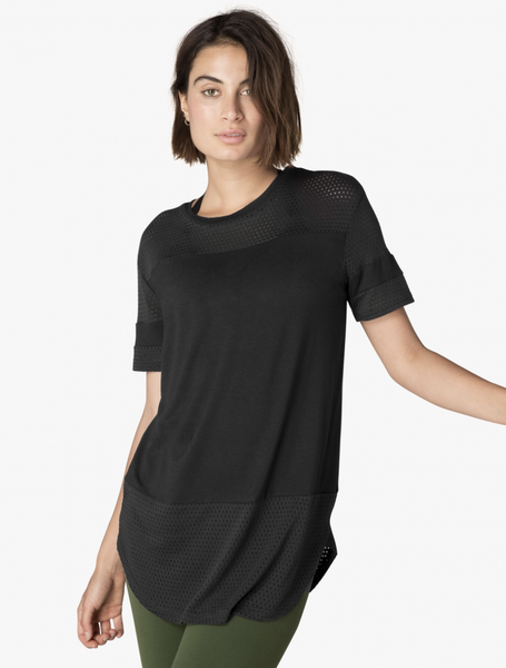 BEYOND YOGA FULL TRANSPARENCY TUNIC - T. Georgiano's
