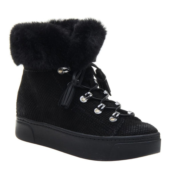 Naked Feet Kaffra Black Cold Weather Boots