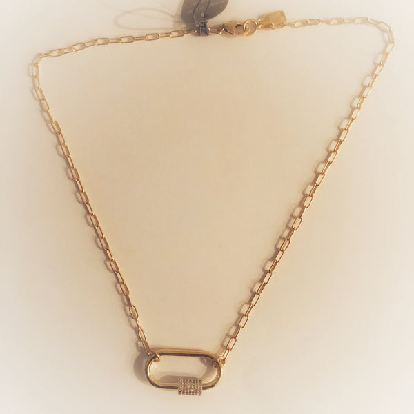 "Afterglow Necklace 18"" - T. Georgiano's"