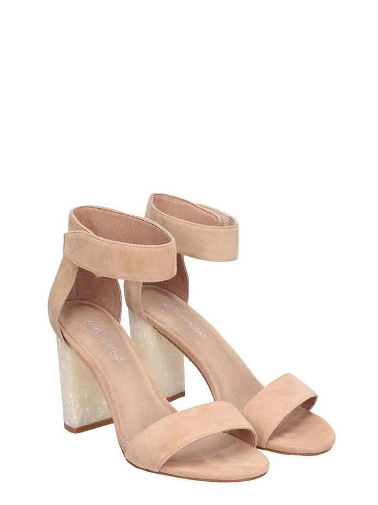 Lindsay Nude Sandals - T. Georgiano's