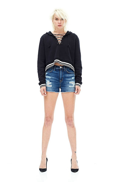 Hudson Jeans Soko High Rise Cut Off Short- Legit