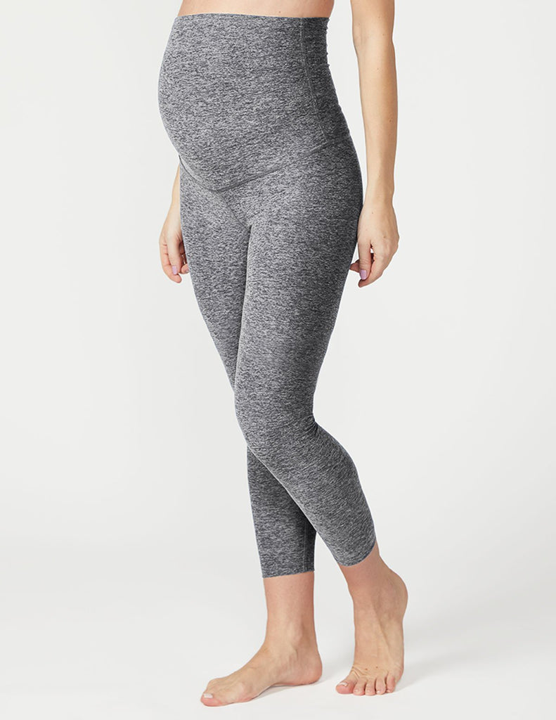Spacedye Love The Bump Capri Maternity Legging - T. Georgiano's