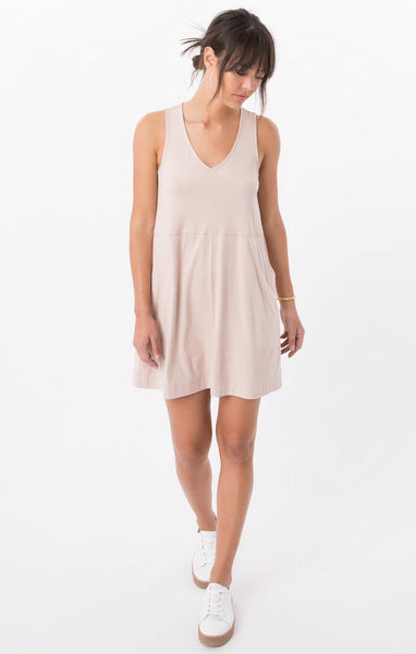 Z SUPPLY The Suede V-Neck Dress