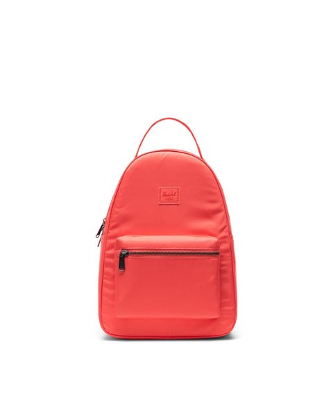 Nova Backpack Small Flight Satin Hot Coral - T. Georgiano's