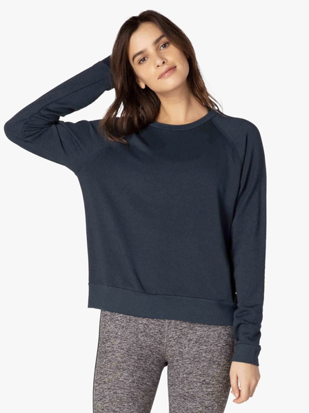 CF7545 Cozy Fleece Raglan Pullover - T. Georgiano's