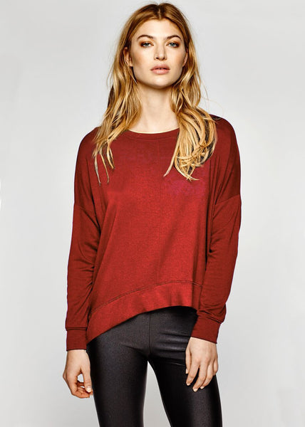 Nesh NYC The Essential Sweatshirt - Red