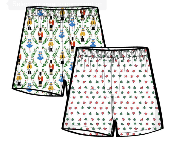Men's Starry Nights Boxer Shorts Set