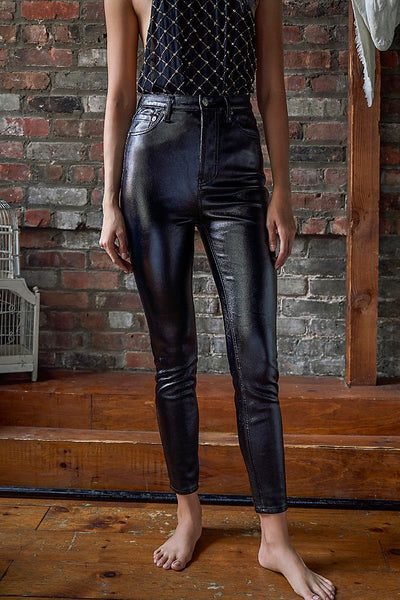 Phoenix Coated Skinny Jeans - T. Georgiano's