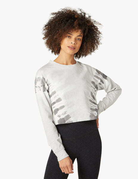 WD7711 Weekend Boxy Crop Pullover