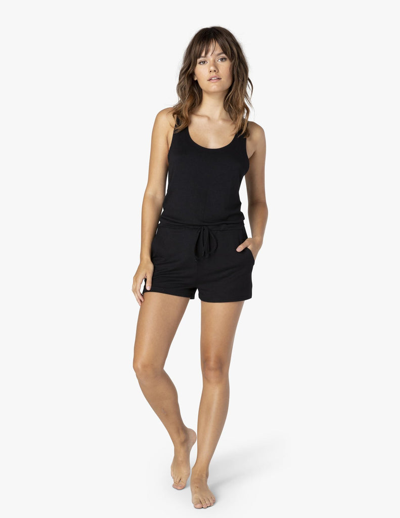 Beyond Yoga Just Chillin Romper - T. Georgiano's