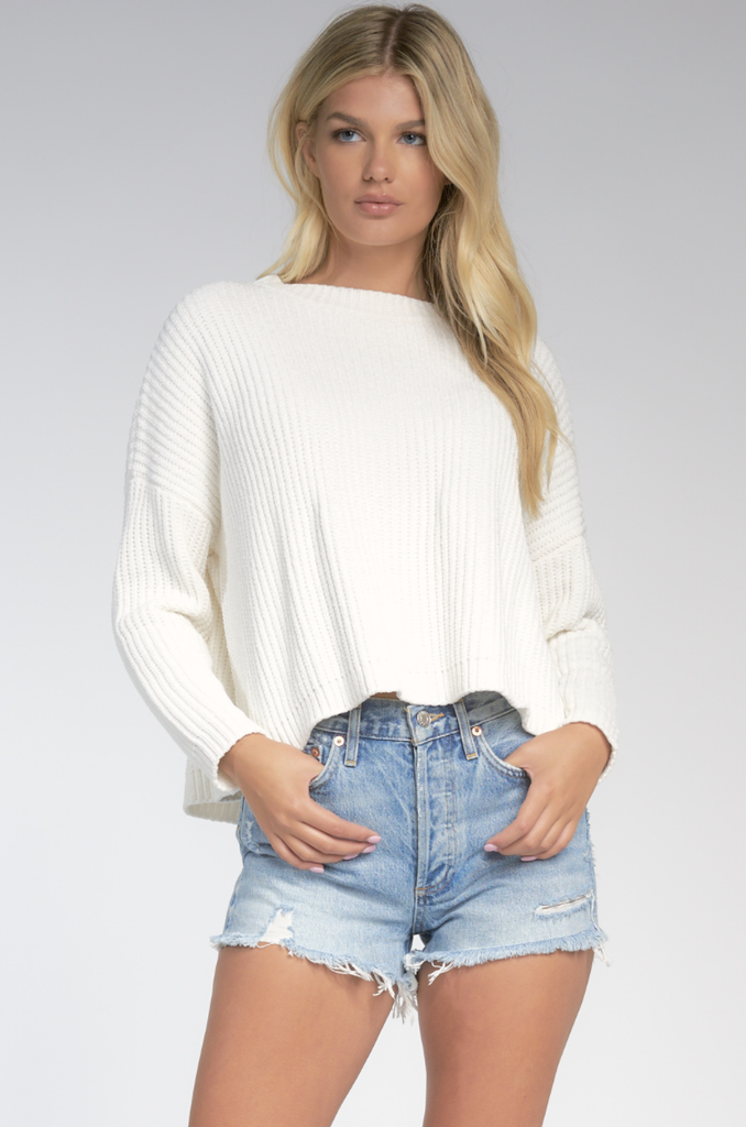 SW10124 Butterfly Back Sweater - T. Georgiano's