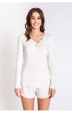 PJ Salvage L/S Textured Lounge - T. Georgiano's