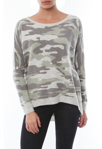 Acrobat Camouflage Print Pullover - T. Georgiano's
