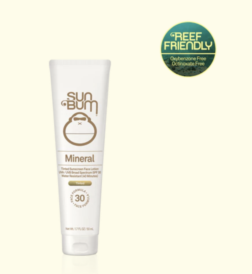 SPF 30 Mineral Tinted Face Lotion - 1.7oz - T. Georgiano's