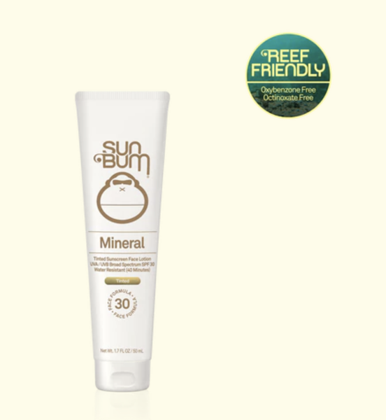 SPF 30 Mineral Tinted Face Lotion - 1.7oz