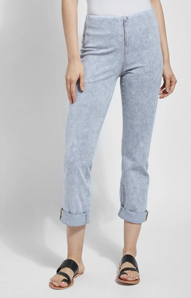 Boyfriend Denim/ Light Grey - T. Georgiano's
