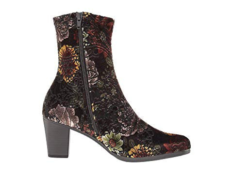 9.5613 Floral Multi Stretch Ankle Boot - T. Georgiano's