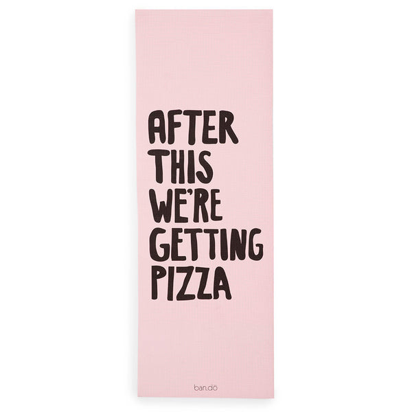 WORK IT OUT EXERCISE MAT - AFTER THIS WE'RE GETTING PIZZA - T. Georgiano's